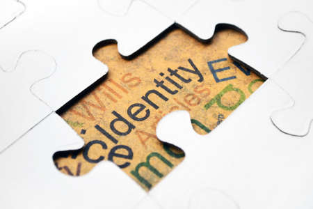 Identity puzzle concept Stock Photo - 15604528
