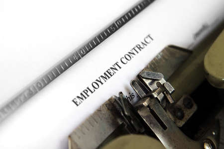 stipulation: Employment contract