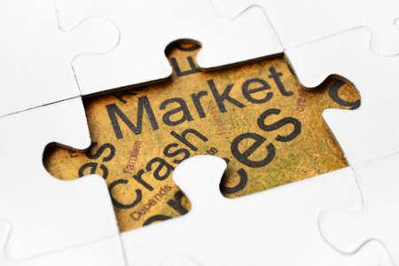 Crash market Stock Photo - 15627902