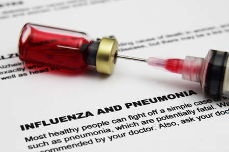 influenza: Influenza and pnemonia