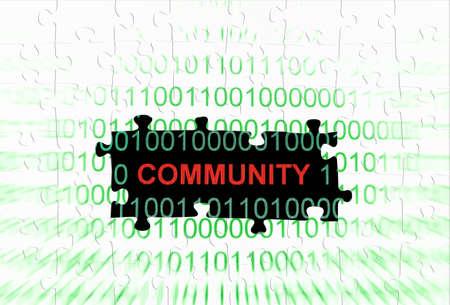 Web community concept Stock Photo - 16117224