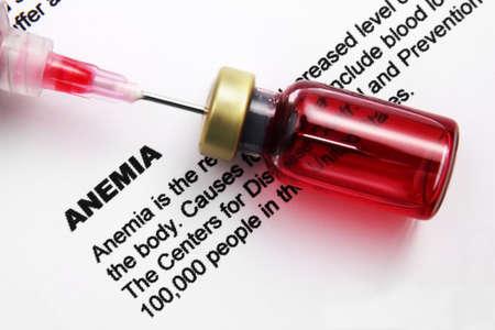 Anemia Stock Photo