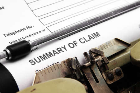 financial questions: Summary of claim