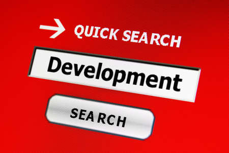 Search for development Stock Photo - 16551901