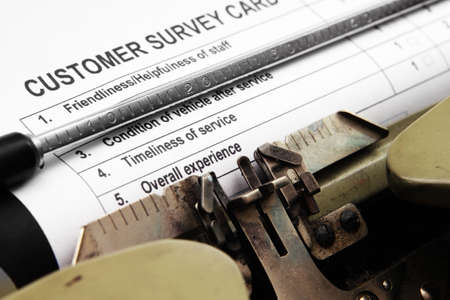 Customer survey Stock Photo - 16551875