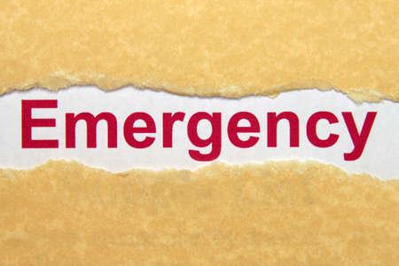 Emergency photo