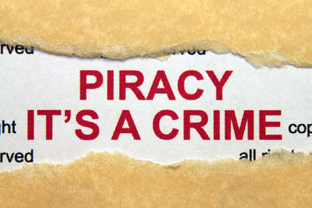 Piracy its crime photo