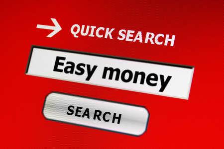 Easy money Stock Photo - 17089439