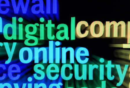 Online security Stock Photo - 17089374