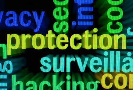 Protection word cloud photo