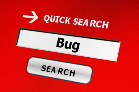 Web bug photo