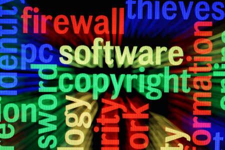 Software copyright Stock Photo - 17191061