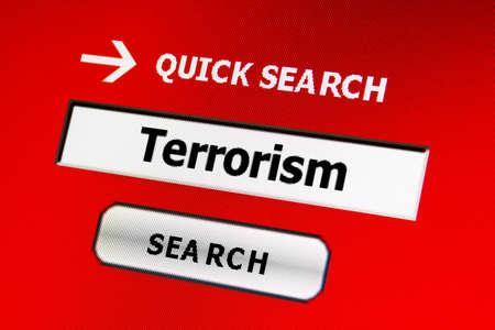 cyberwarfare: Web terrorism concept