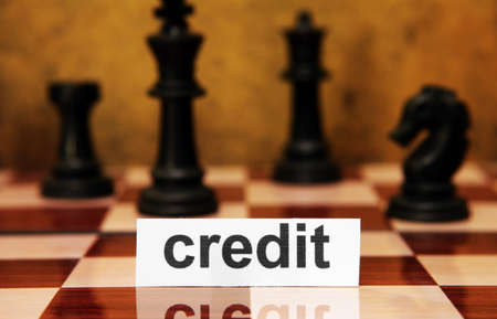 Credit concept Stock Photo - 17431040