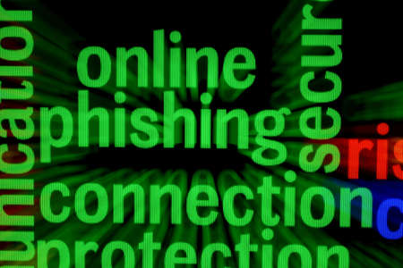 Online phishing connection Stock Photo - 17431490