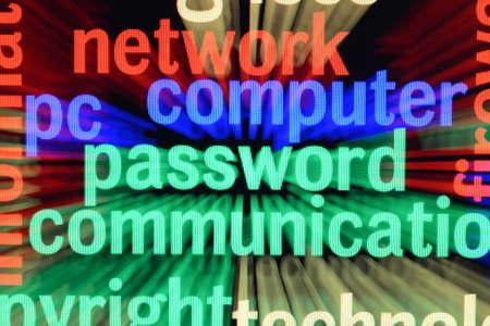 Network computer password Stock Photo - 17431826