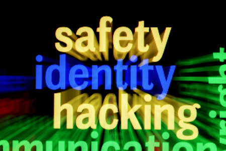 Safety identity hacking Stock Photo - 17431157