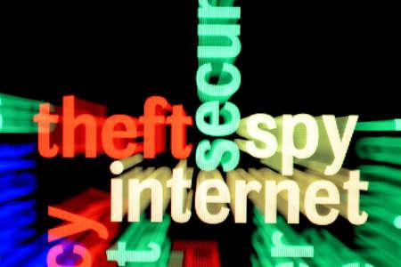 Theft spy internet Stock Photo - 17430961