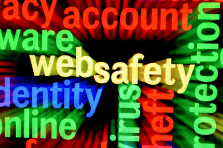 Web safety Stock Photo - 17431781