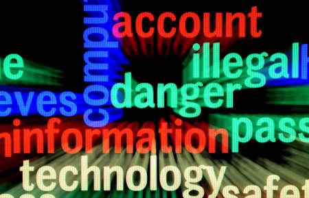 Illegal danger information Stock Photo - 17432313