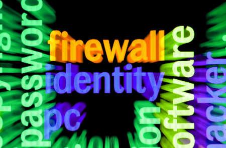 Firewall identity Stock Photo - 17432266