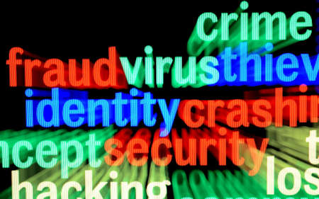 Fraud virus identity photo