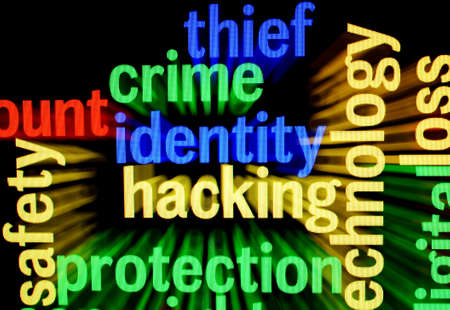 Crime identity hacking photo