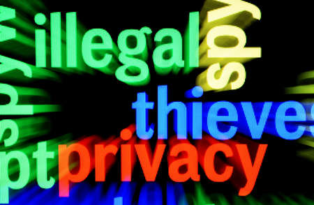 Illegal Privacy Stock Photo - 17432284