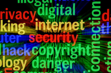 Internet security copyright Stock Photo - 17432368