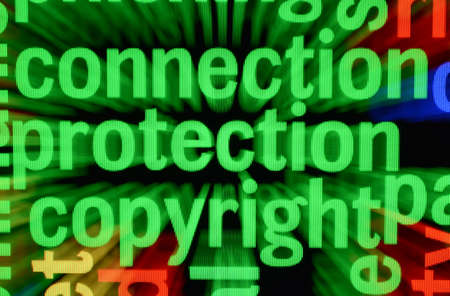 Connection protection copyright Stock Photo - 17432340