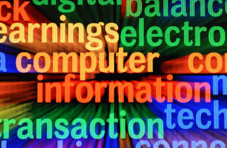 Computer information Stock Photo - 17502446