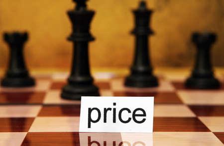 Price concept photo