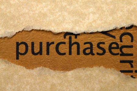 Purchase concept Stock Photo - 17502447