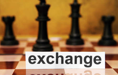 Exchange concept Stock Photo - 17591825