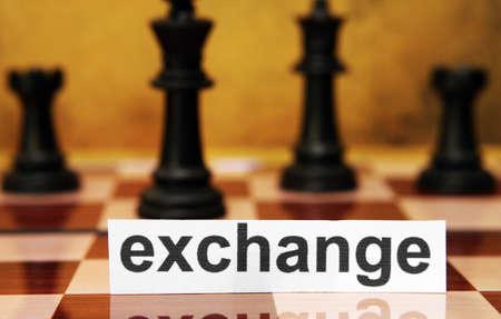 Exchange concept Stock Photo - 17591825