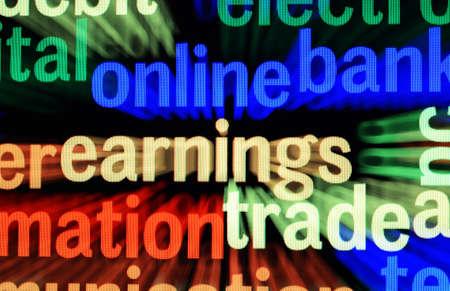 earnings: Online earnings trade
