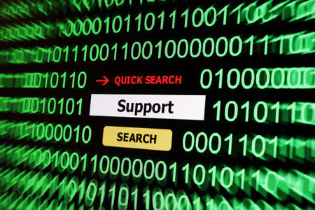 Search for support Stock Photo - 17591870
