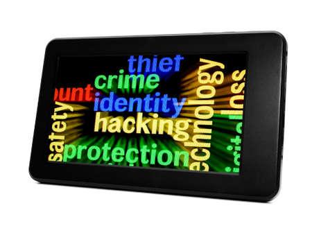 Crime identity hacking Stock Photo - 17754904