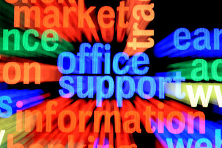 Office support information Stock Photo - 17754930