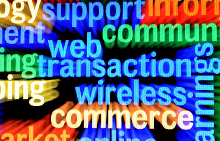 Web transaction wireless Stock Photo - 17754938