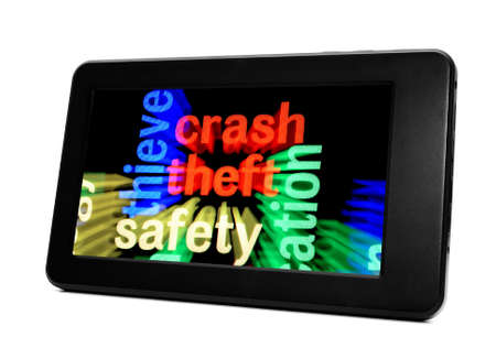 Theft safety concept photo