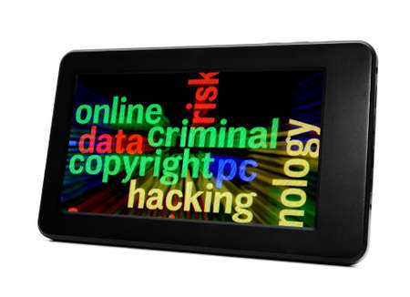 Online criminal concept Stock Photo - 17885970