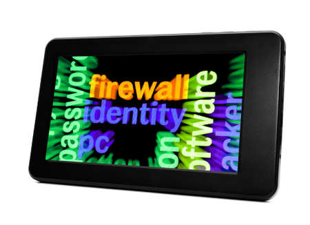 Firewall identity concept Stock Photo - 17885959