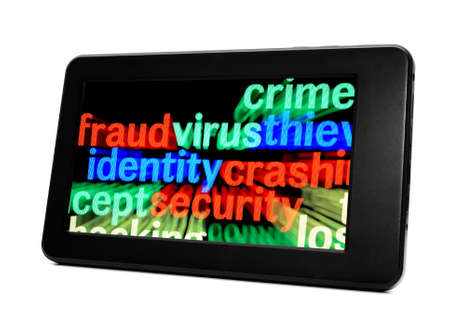 Fraud virus identity Stock Photo - 17885968