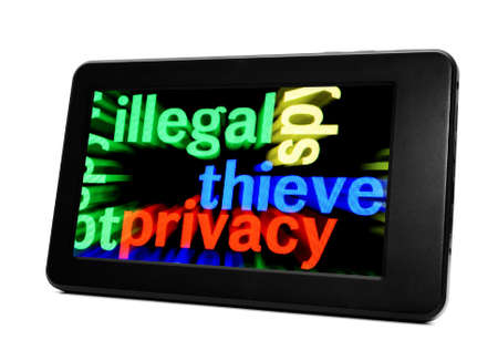 Illegal thieve privacy photo