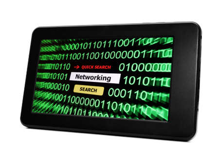Tablet pc networking photo