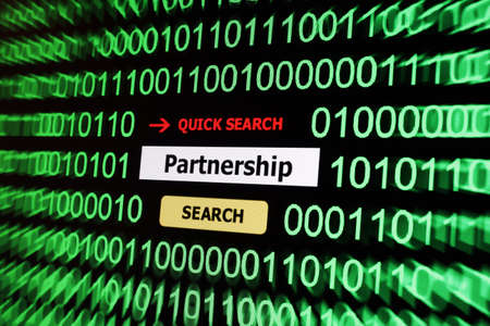 Search for partnership Stock Photo - 17886099