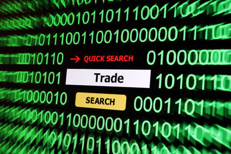 Search for trade Stock Photo - 17886093