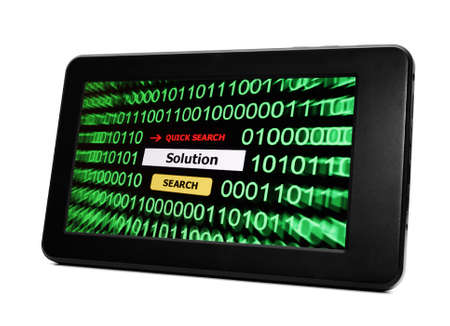 Search for solution Stock Photo - 17997107