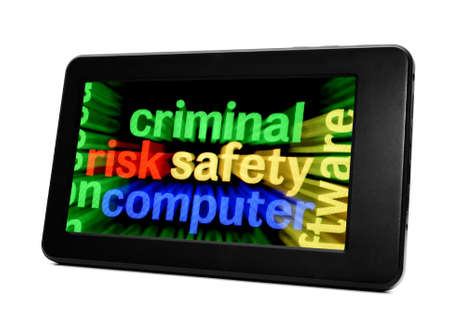 Criminal safety computer Stock Photo - 18122225